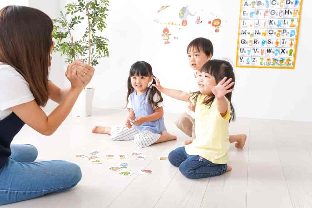 Rèn luyện khả năng phản xạ tiếng Anh cho trẻ em.prrng